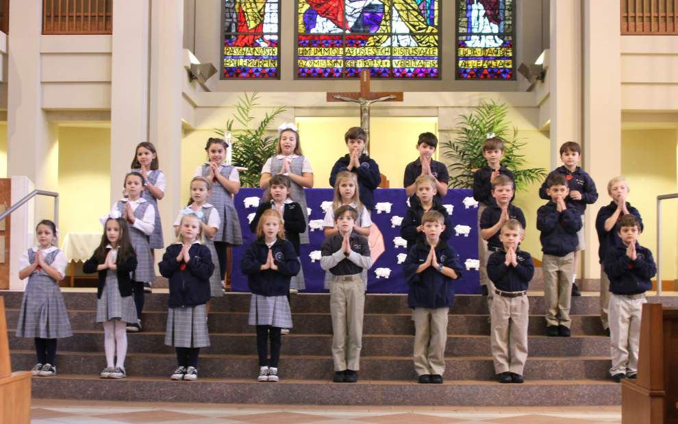St. Catherine of Siena second-graders have their first Reconciliation _lowres