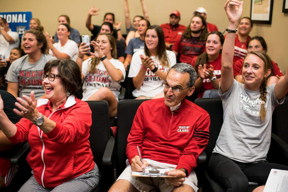 Cajuns softball lands No. 14 seed, will host Boston U. to open NCAA regional that features Texas and Texas A&M _lowres