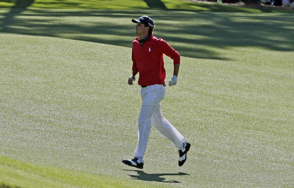 Smylie Kaufman five shot off Masters lead; Patrick Reed makes cut _lowres