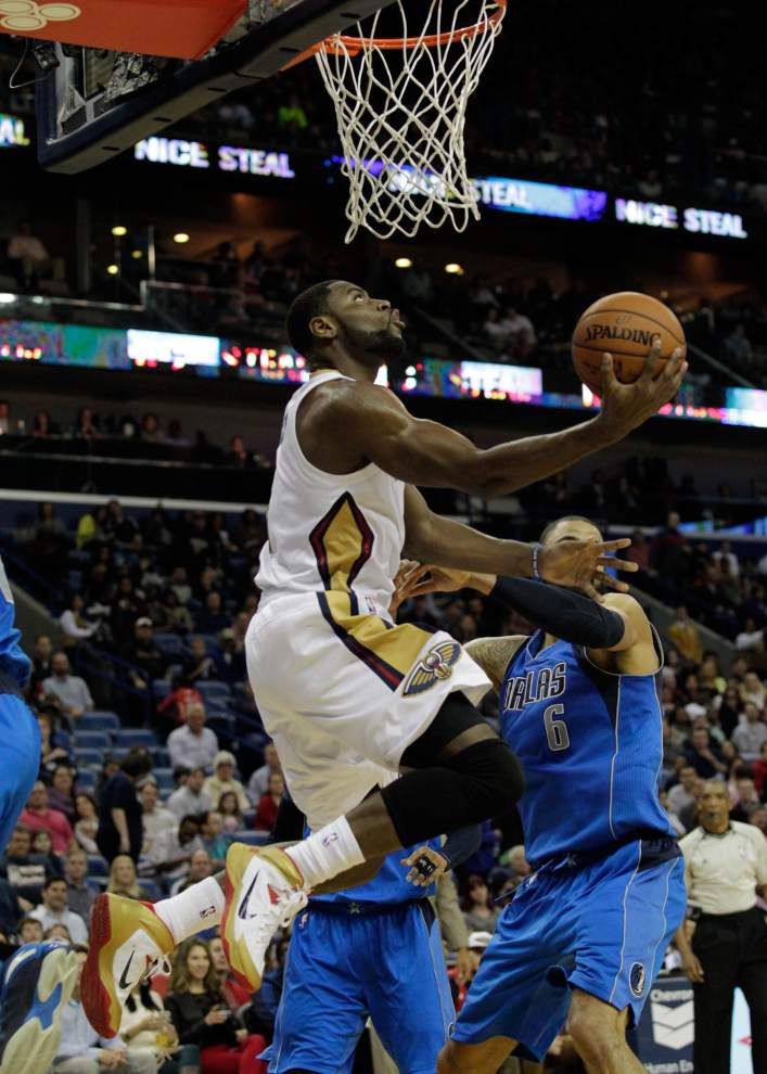 Pelicans dump Mavericks 109-106 for third straight win _lowres