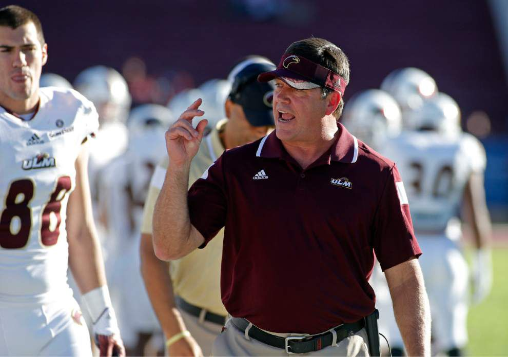 ULM coach Todd Berry relieved of duties _lowres