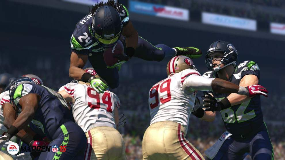 'Madden NFL 15' scores on new consoles _lowres