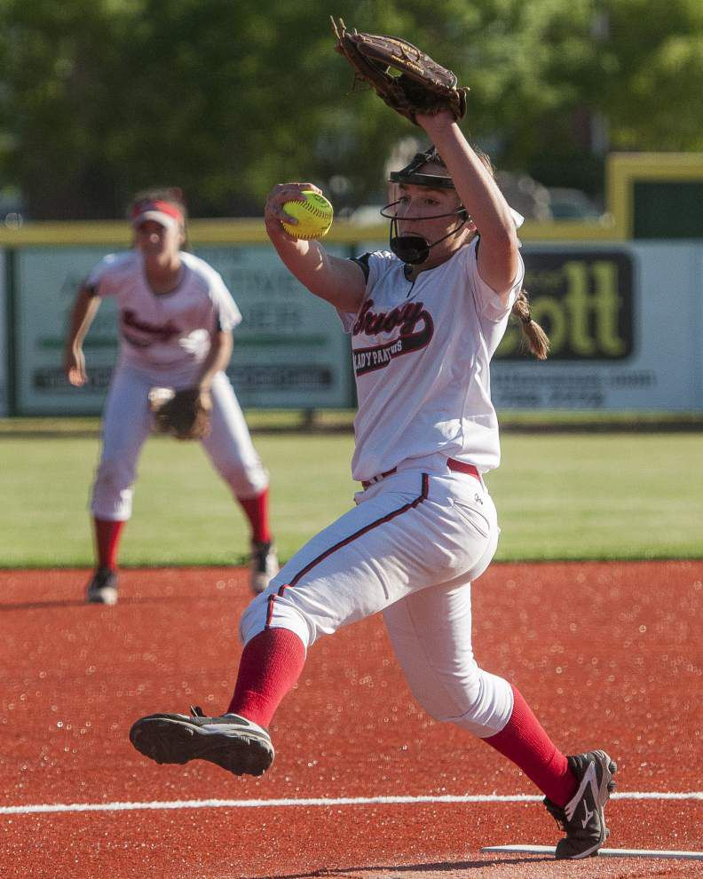 Audrey Greely's three-run homer in the seventh inning lifts Parkview Baptist past Brusly 7-6 _lowres