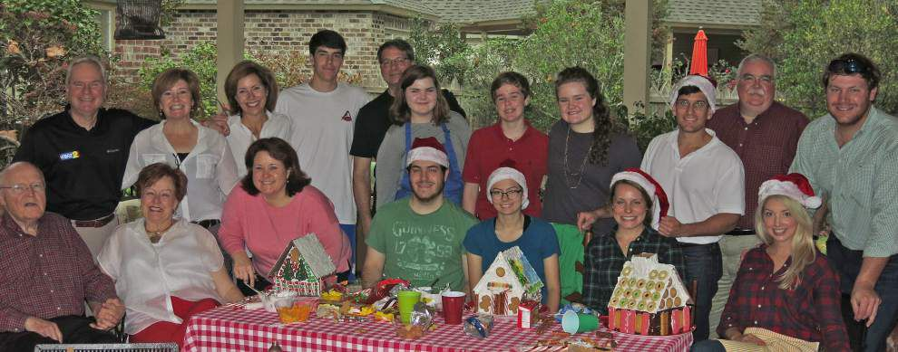 Family Christmas tradition makes way for sticky hands, big laughs and a few 'Cooky Houses' _lowres