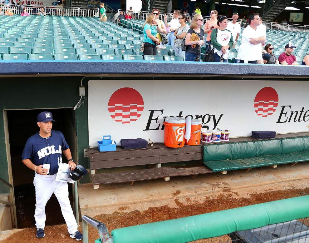 Amid roster turnover, Zephyrs manager Andy Haines keeps putting pieces together _lowres