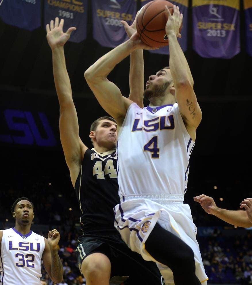 New year, new focus? LSU men's basketball team needs to turn things around starting with Saturday's SEC opener at Vanderbilt _lowres