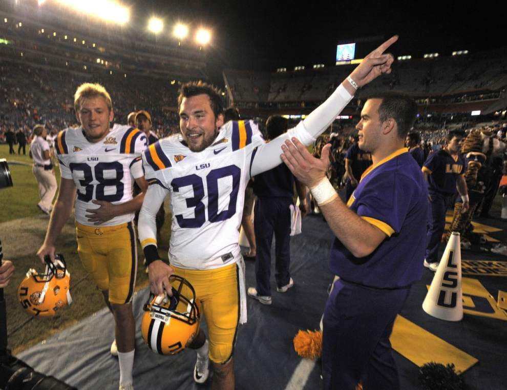 Big step to Tigers' 1958 title, 2010 fake field goal and other memorable LSU vs. Florida games _lowres