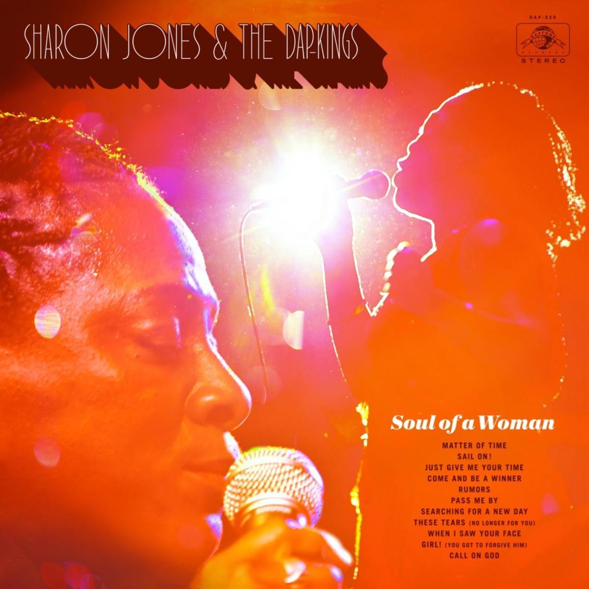 Sharon Jones  & The Dap-Kings album art for Red