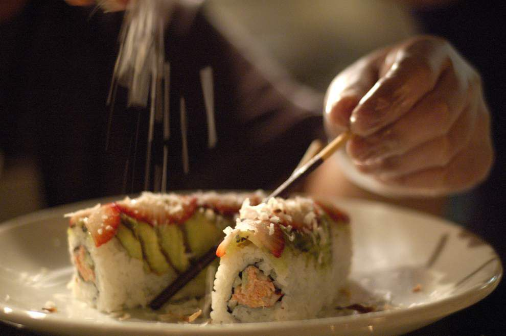 Tsunami Sushi, popular in Lafayette and Baton Rouge, plans new restaurant in downtown New Orleans _lowres