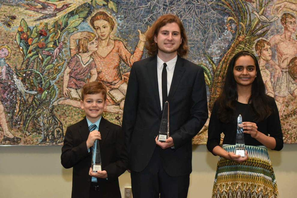 Students from Ascension, St. Charles and Jefferson parishes win Louisiana Student of the Year honors _lowres