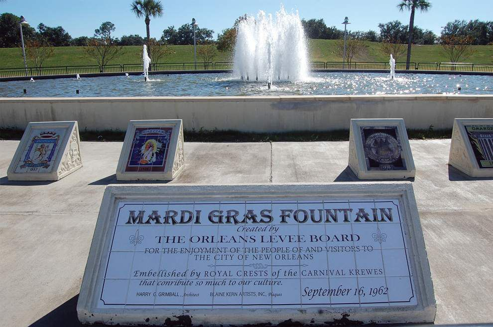 Arthur Hardy: A few things you might not know about Mardi Gras Fountain on New Orleans' lakefront _lowres