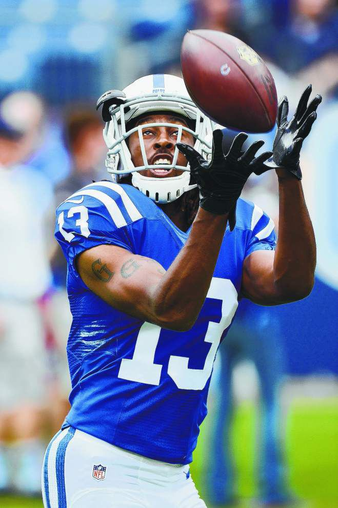 Saints Gameday: Colts have personnel to take advantage of banged up Saints secondary _lowres