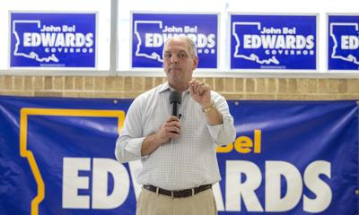 John Bel Edwards campaign stop (copy)