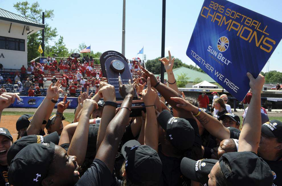 Sun Belt softball title game: Aleah Craighton's grand slam caps Cajuns' dominant 12-0 victory over Texas State _lowres
