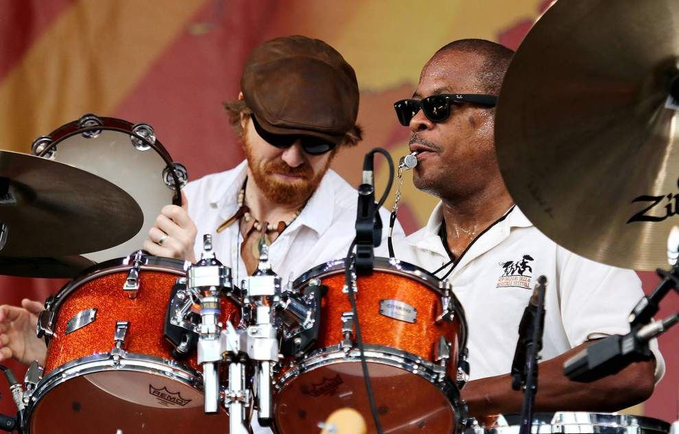 New Orleans Suspects true to their roots rock at Jazz Fest _lowres