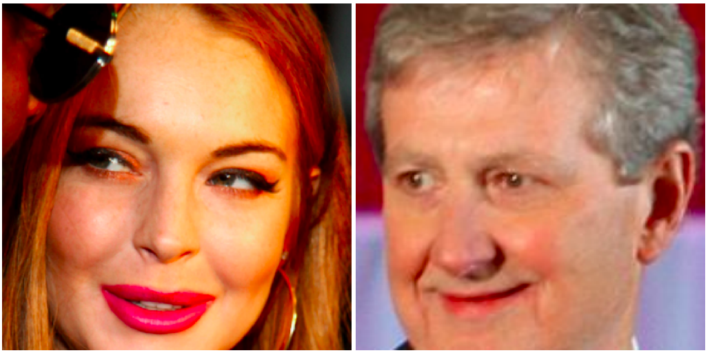 Report: Lindsay Lohan's parents say they may sue U.S. Sen. John Kennedy for making fun of Lindsay_lowres