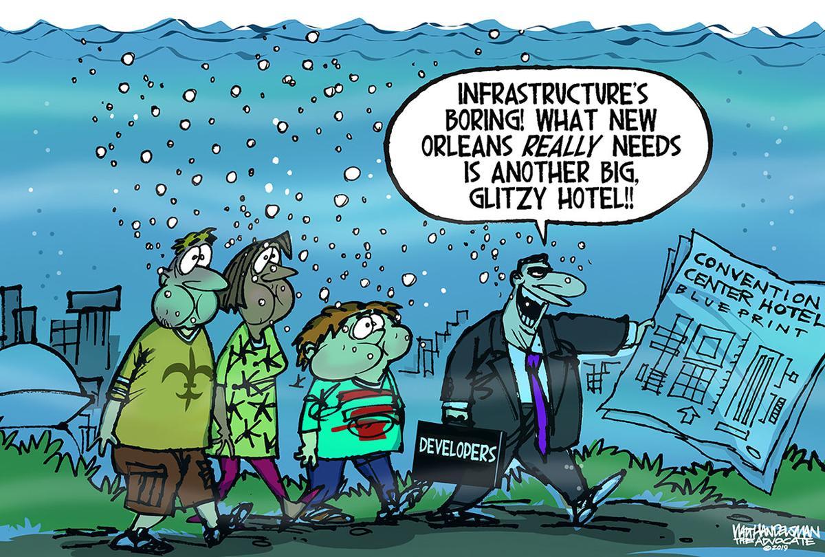 Walt Handelsman: Infrastructure Crisis