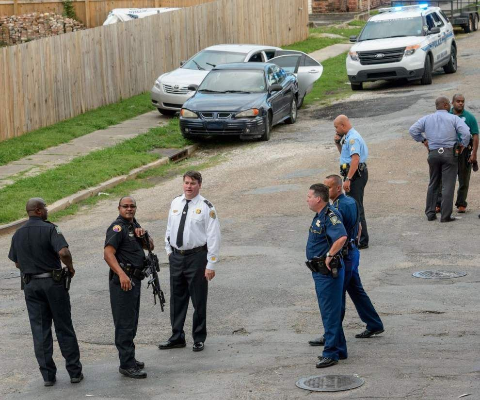 Car chase ends with arrest in Gentilly; police probing links to spate of armed robberies _lowres