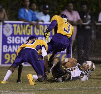 Photos: Amite chase Livonia, Mandeville keep Ponchatoula at bay in Thursday night prep football _lowres
