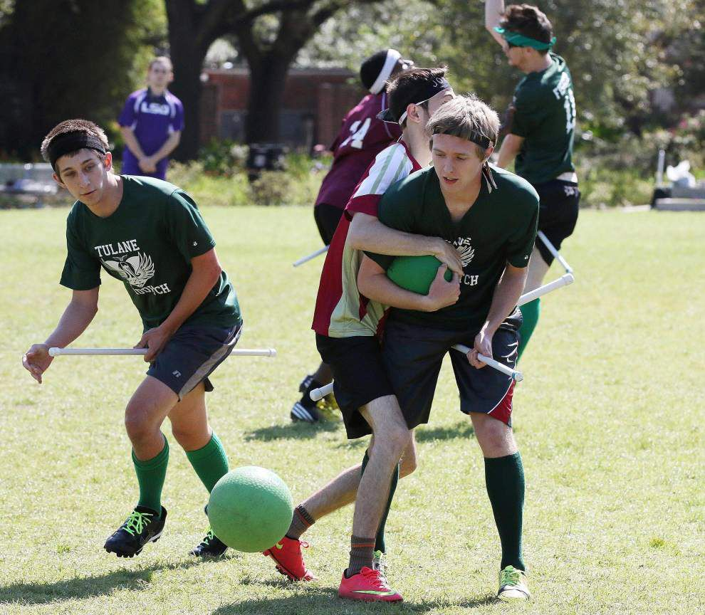 Quidditch for Muggles: Once whimsy, sport has evolved into serious competition in Louisiana _lowres