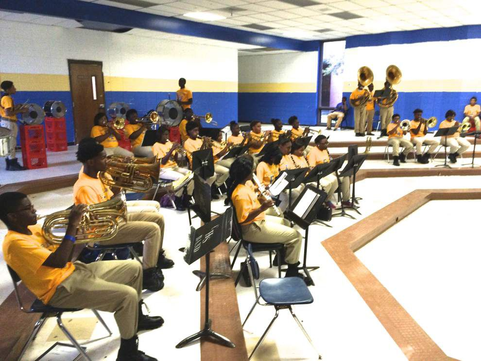 East Feliciana band gets new uniforms _lowres