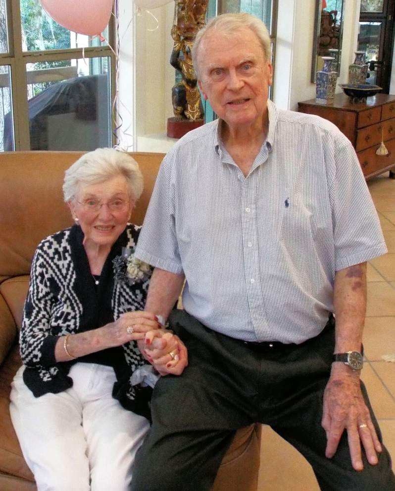 Mandeville couple marks 70th anniversary _lowres