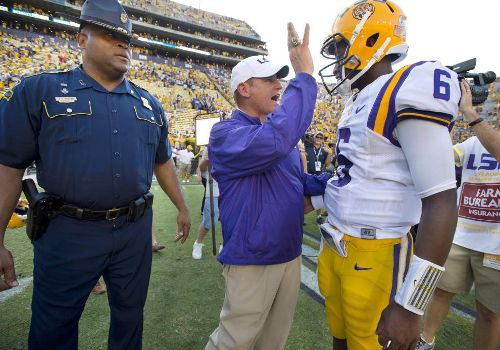 CBS' Gary Danielson: Lack of quarterback Les Miles' downfall at LSU, but 'he might not be unemployed for two hours' _lowres
