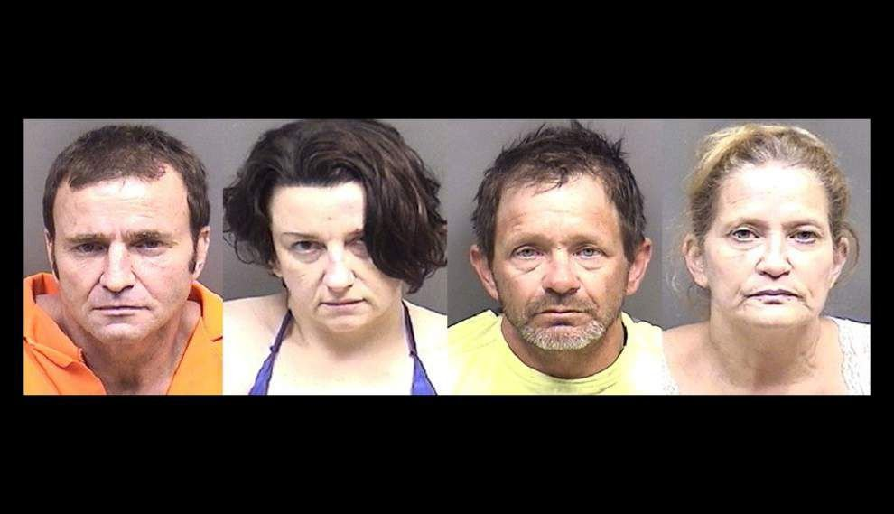 Four arrested on drug counts following two-month investigation, Ascension sheriff says _lowres