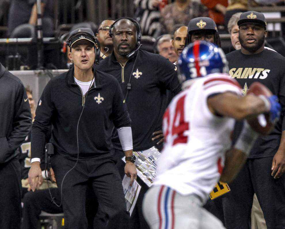 Detail-oriented Dennis Allen takes over the Saints defense, with a chance to show what he can achieve on short notice _lowres