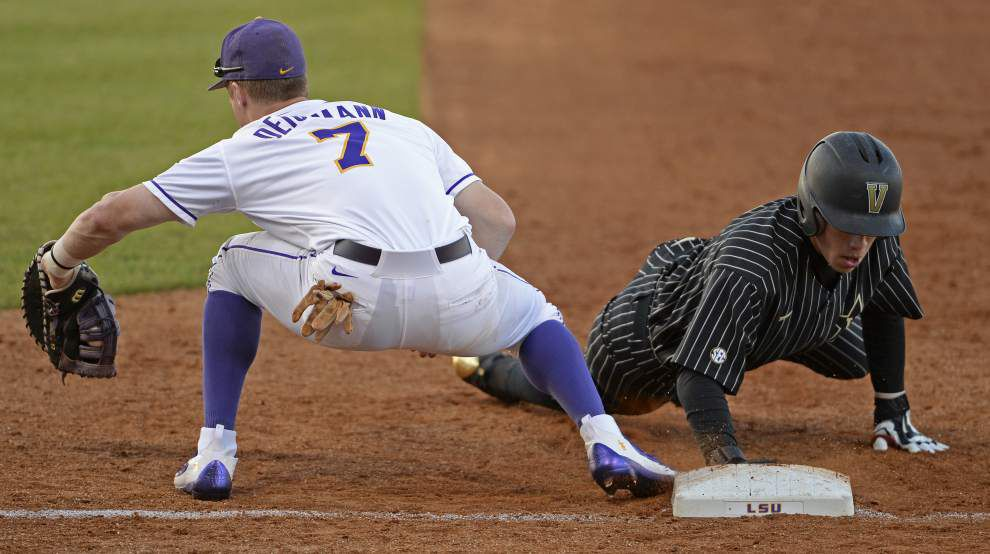 LSU baseball notebook: With Greg Deichmann mired in a slump, Paul Mainieri unsure of first base plans ahead of Ole Miss series _lowres