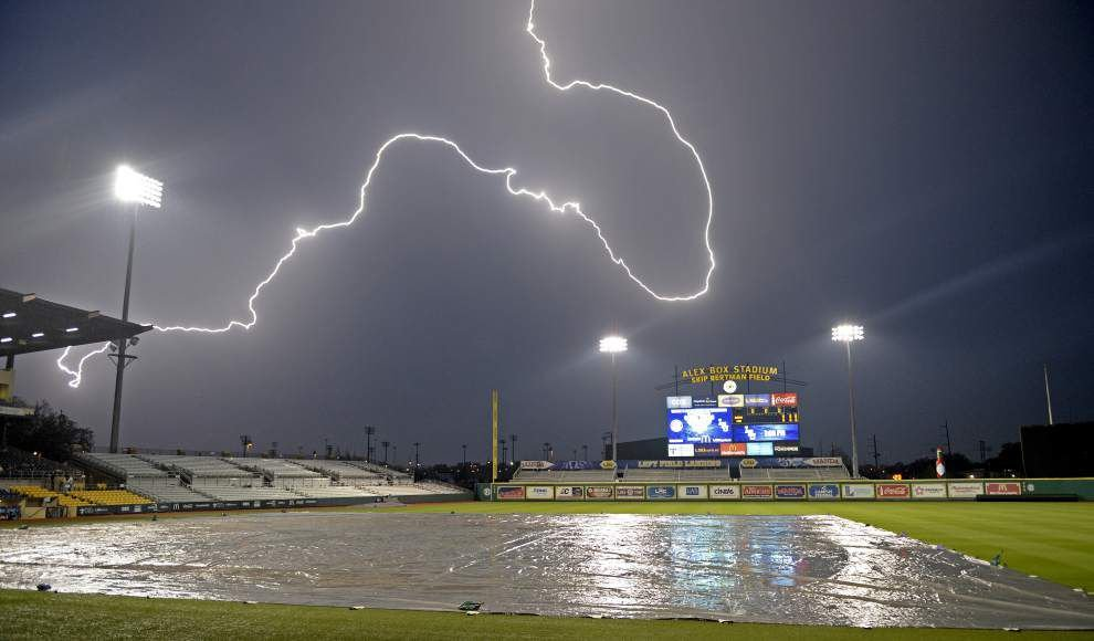 Video: How intense were Friday night's south Louisiana thunderstorms? Here's a look _lowres