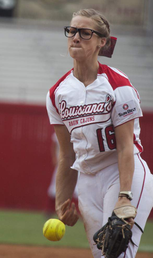 Christina Hamilton emerges as UL-Lafayette ace _lowres