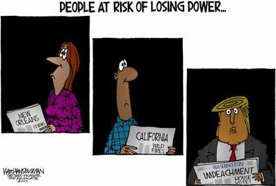 Walt Handelsman: Power Outages