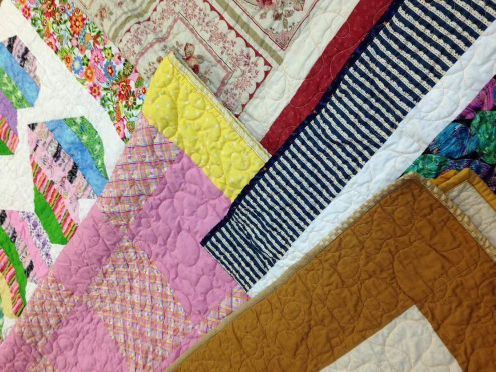 Ministry stitches cuddly quilts for cancer patients _lowres