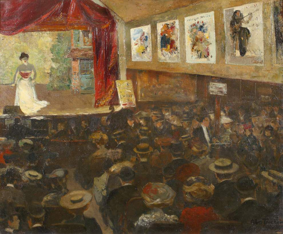 Exhibit celebrates Parisian artistic and cultural scene at turn of 19th century _lowres