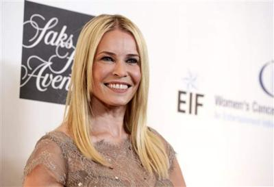 Yahoo! report: Chelsea Handler flashes while partying with Sandra Bullock at Mardi Gras in New Orleans _lowres