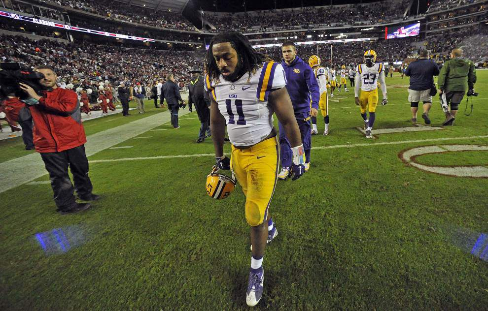LSU falls five spots to No. 9 in coaches poll following loss to Alabama _lowres