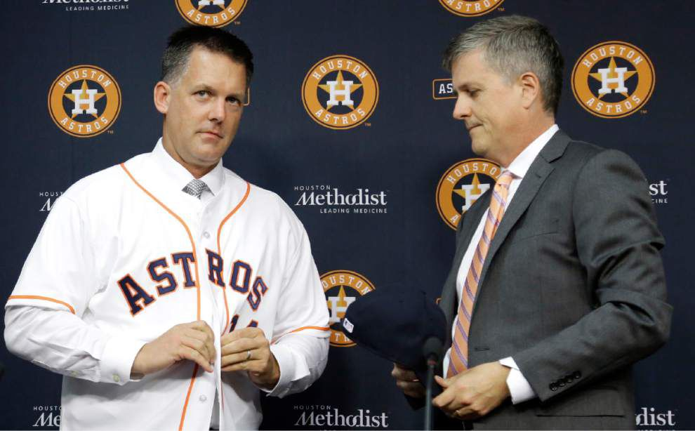 Astros hire A.J. Hinch as manager _lowres