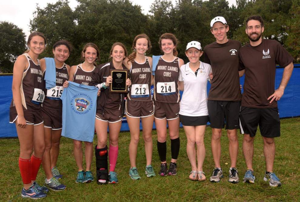 Mount Carmel Academy cross country team finishes strong despite injuries _lowres