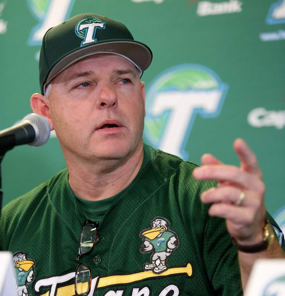 Coach David Pierce brings new vibe to Tulane baseball _lowres