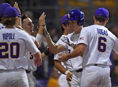 more photos 66d7d 72009 How big outs and a big Daniel Cabrera blast helped LSU ...