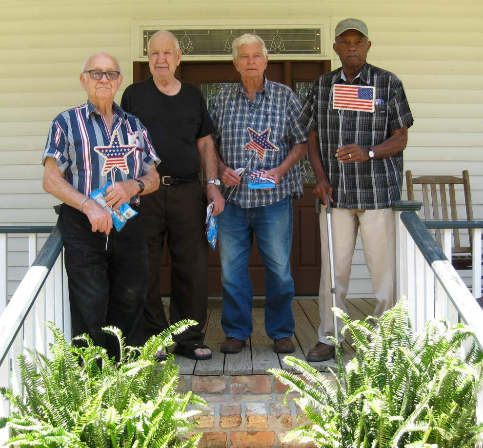 East Feliciana Council on Aging in Clinton celebrate Memorial Day _lowres