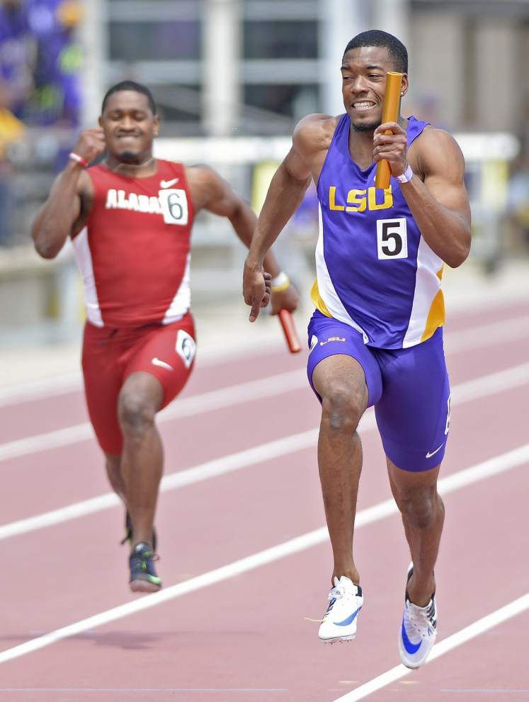 LSU track athletes help Southeastern Conference sweep in Battle on the Bayou _lowres