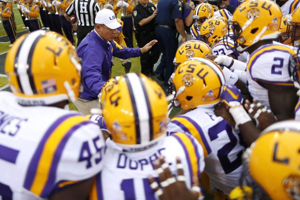 Booger McFarland: 'LSU has got the best team they've had since Nick Saban left' _lowres