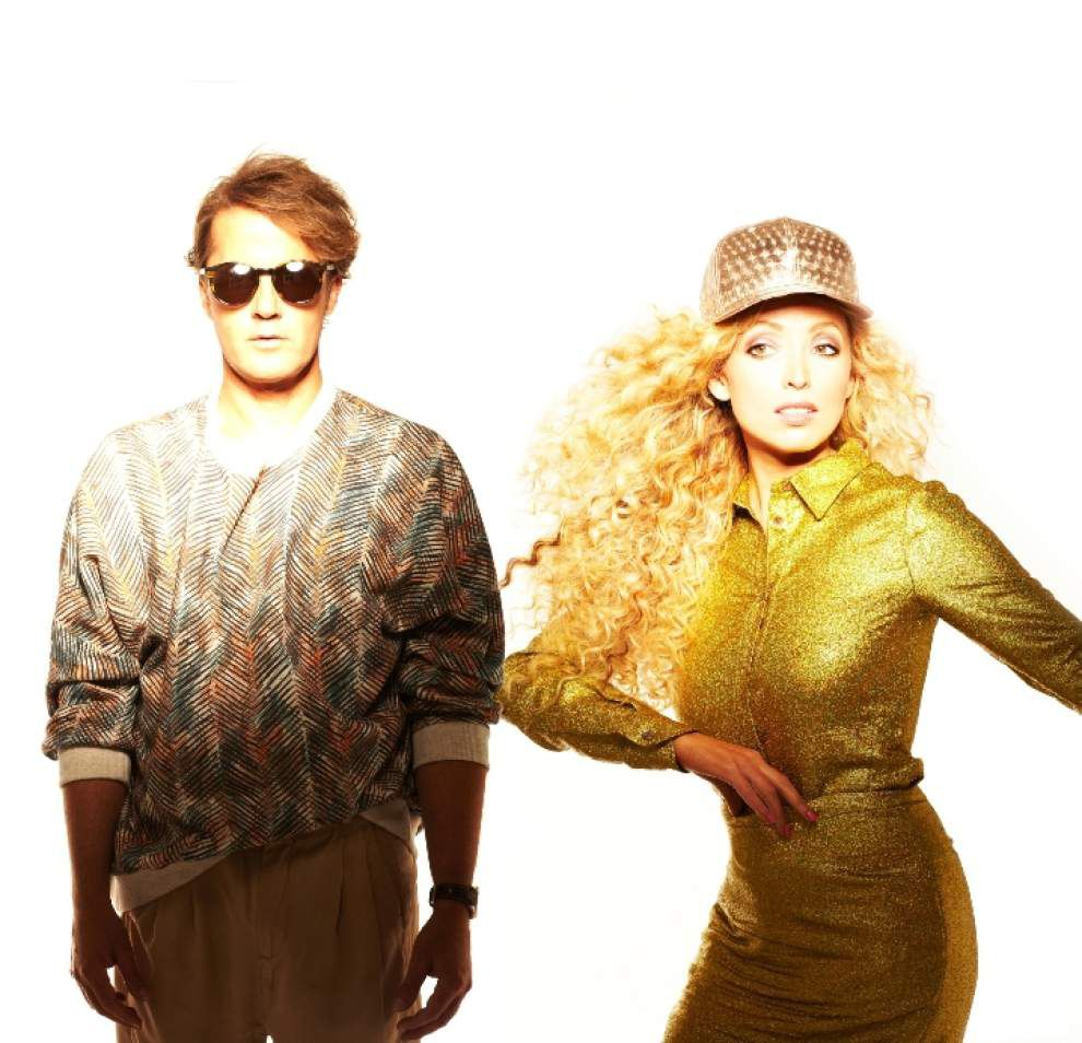 From drizzly Manchester, The Ting Tings are a bright pop voice _lowres