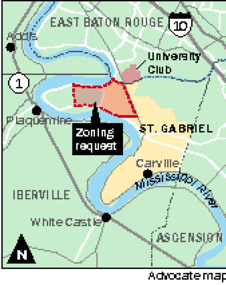 Request to rezone 3,000 acres in St. Gabriel from residential to industrial heads to planning committee, city council _lowres