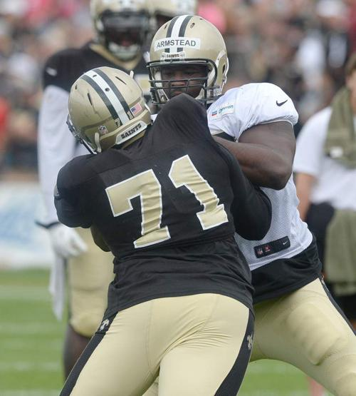 Saints inform rookie DE George Uko he will be waived: source _lowres