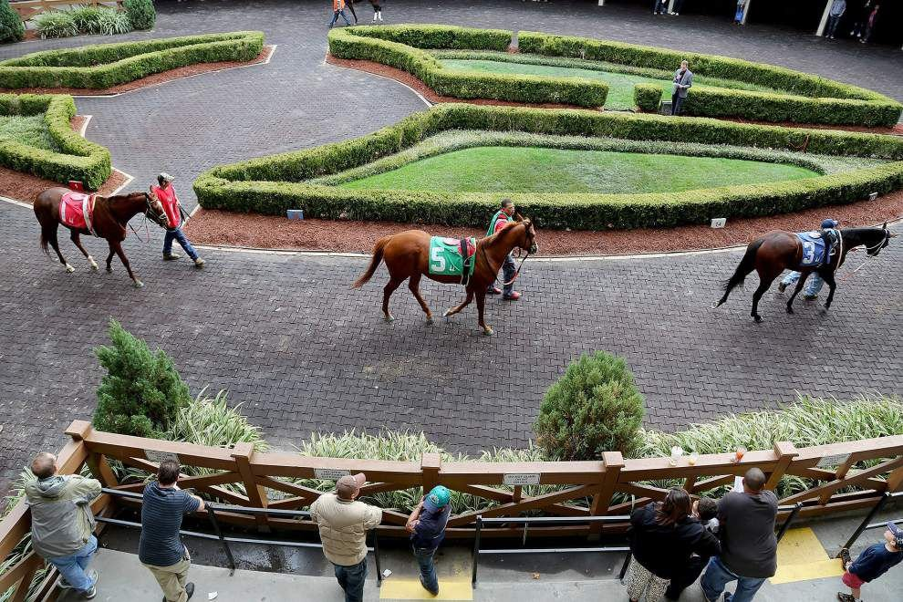 Photos: Fair Grounds opening day _lowres