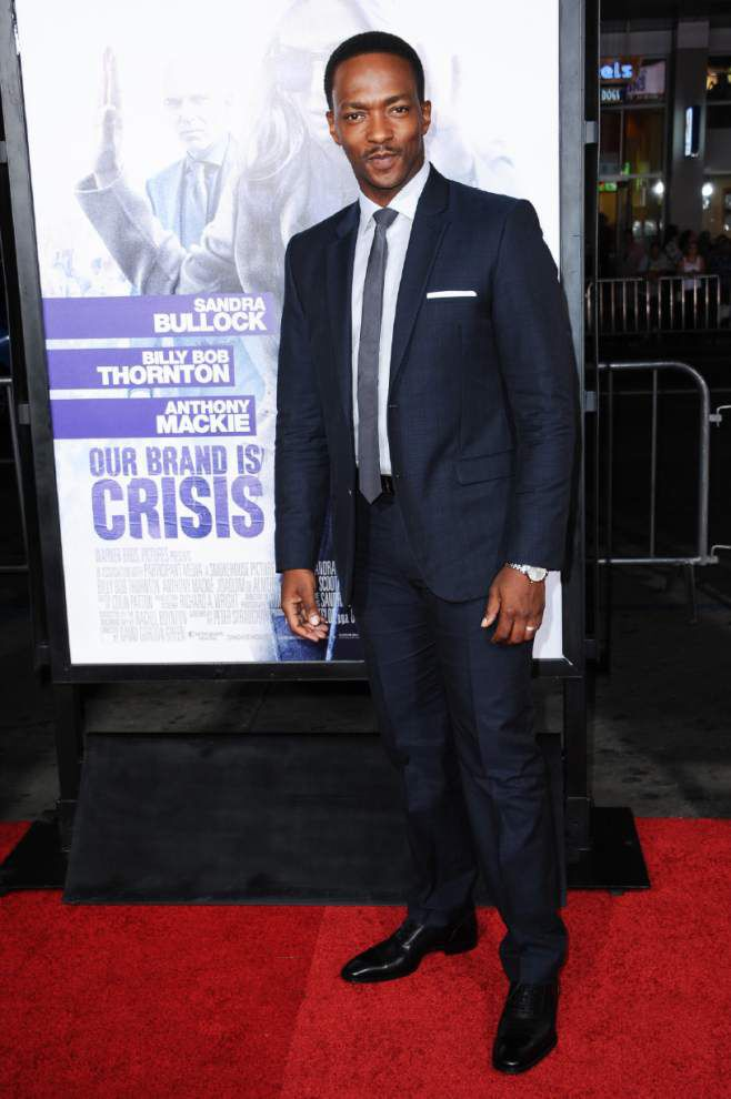 Actor Anthony Mackie grew up catching throws from Bacchus. For Mardi Gras 2016, he IS Bacchus _lowres