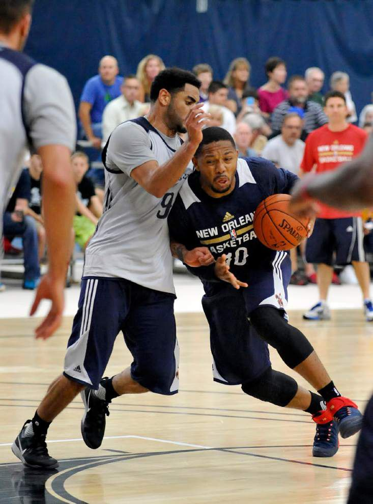 Pelicans pick up pace as preseason opener closes in _lowres